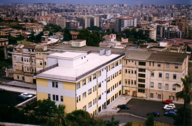 Azienda Ospedaliera di rilievo Nazionale ad alta specializzazione Ospedale Garibaldi, S. Luigi - S. Currò, Ascoli - Tomaselli Catania (CT), 1996