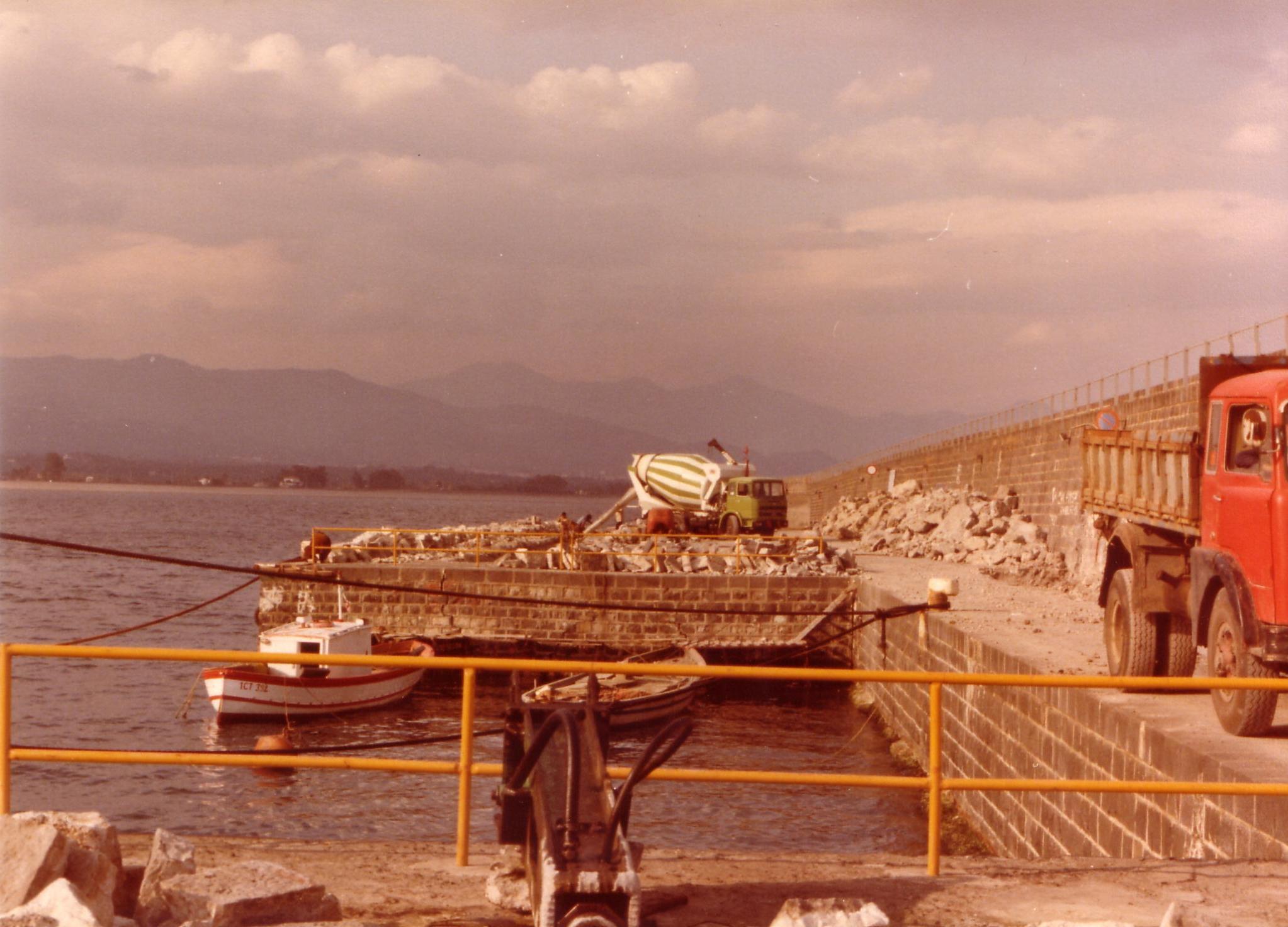 Ufficio del Genio Civile per le Opere Marittime - Porto di Riposto (CT), 1981